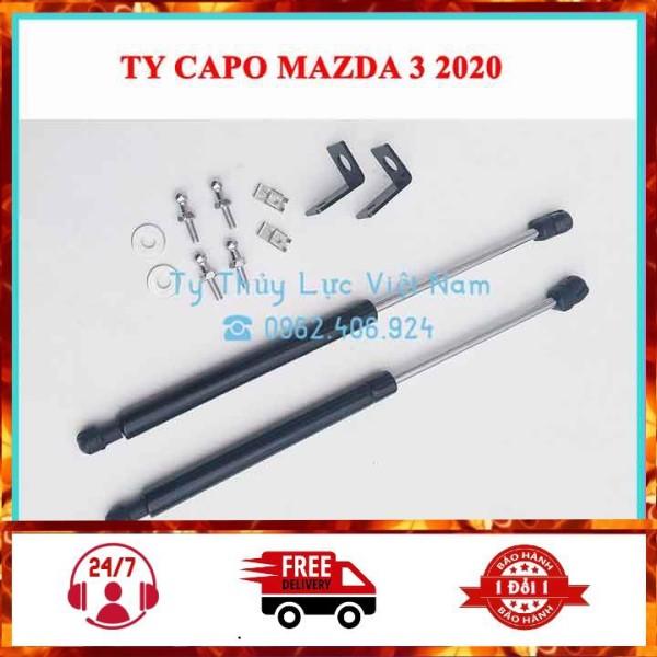 [Mazda 3 2020] Bộ Ty Thủy Lực, Ben Hơi Chống Nắp Capo Cho Xe Mazda 3 2020