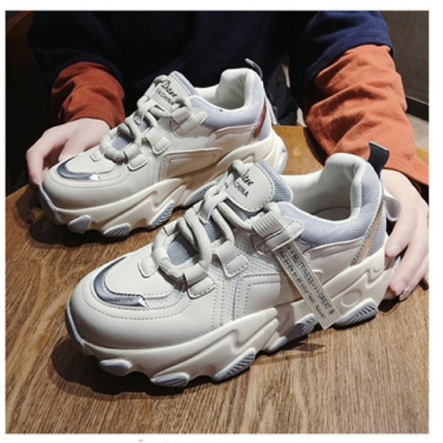 giày thể thao nữ đế viền màu giá rẻ
