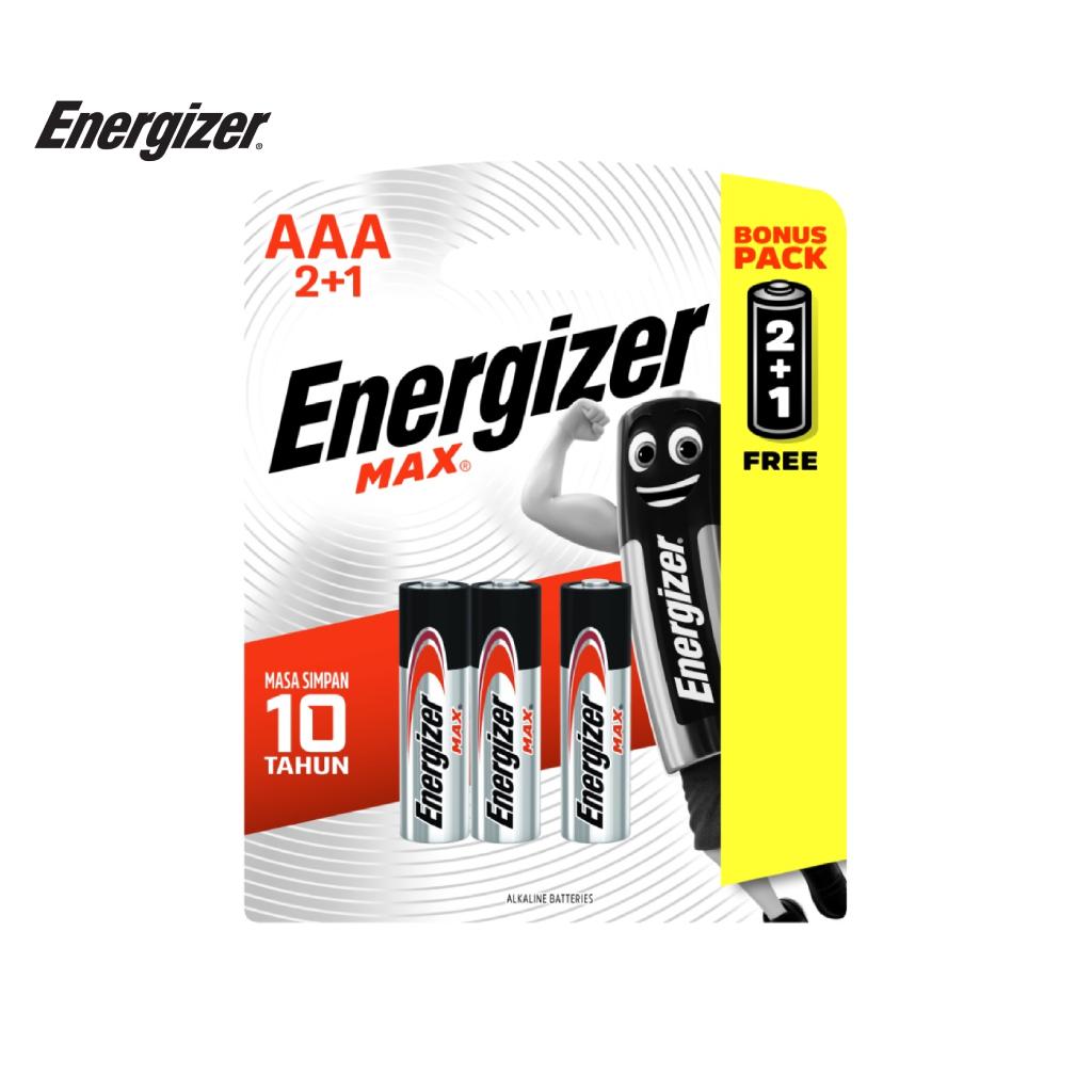 Pin Energizer Max AAA E92 BP2+1 - 100628296