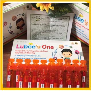 SIRO tăng đề kháng cho bé Lubee s one - Bổ sung Thymomodulin, Taurin, kẽm, vitamin - tăng cường sức đề kháng - giảm nguy cơ mắc bệnh hô hấp, mũi, họng cho bé - Hộp 20 ống 10ml - Chuẩn GMP Bộ y tế thumbnail