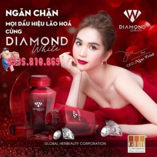 Viên Uống Trắng Da Ngọc Trinh - Beauty Diamond White Mẫu Mới, Hũ 60 Viên, hàng chính hãng thumbnail