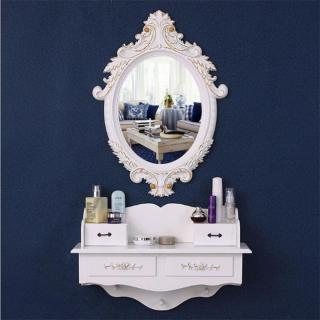 Kệ gương trang điểm treo tường - Gương trang điểm treo tường kèm kệ cao cấp NH9434 thumbnail