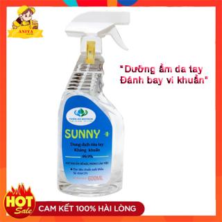 [Phòng covid] Chai xịt diệt khuẩn y tế Sunny 600ml, hiệu quả, dễ sử dụng, mùi thơm dễ chịu, an toàn sức khỏe mùa dịch Covid thumbnail