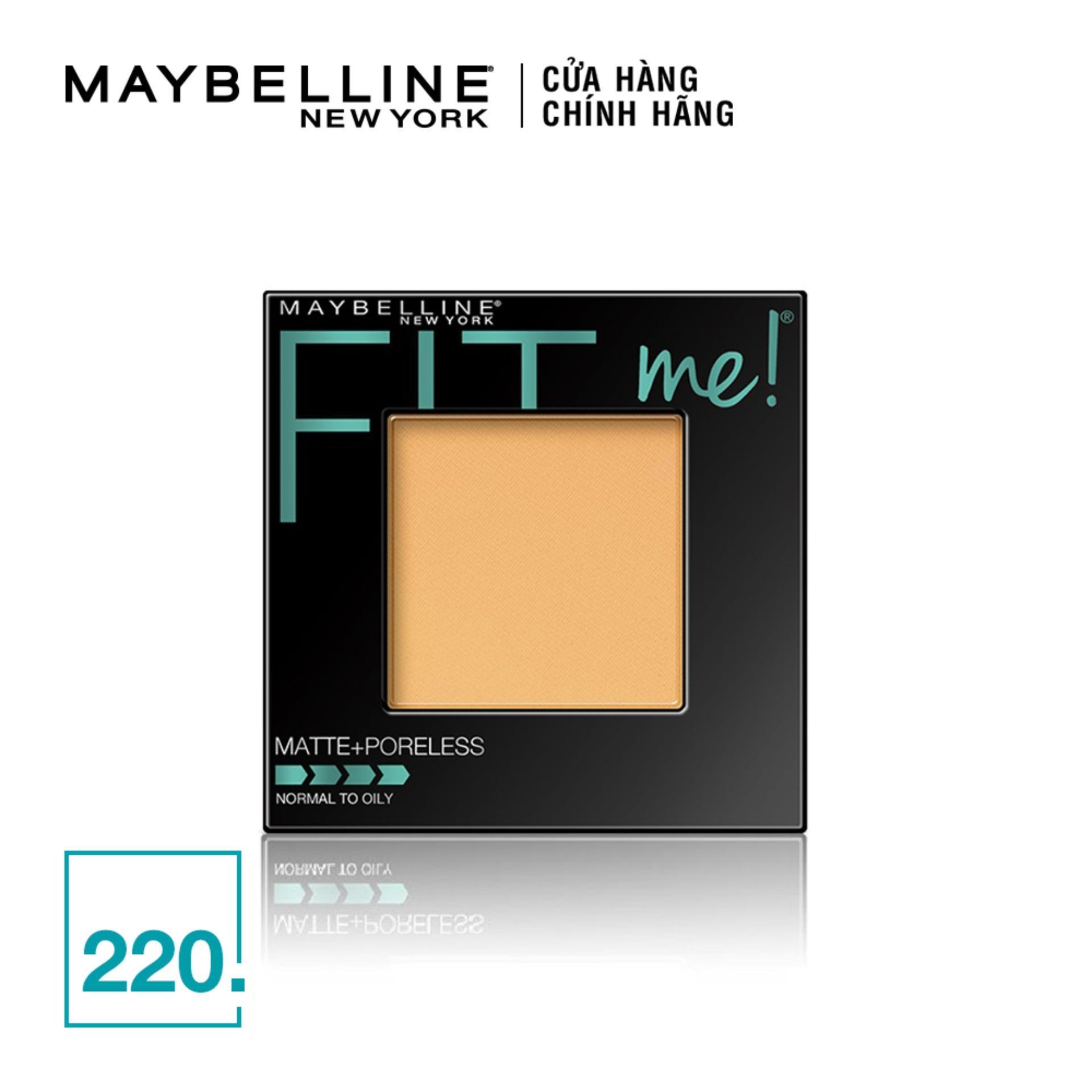 [Flash Sales - Miễnphí vận chuyển HCM & HN ngày 19.3] Phấn Mịn Lì Maybelline New York Fit Me Matte Poreless Powder 8.5g cao cấp