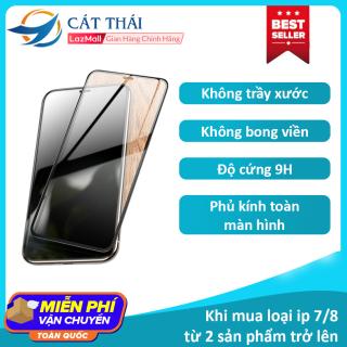 [Miếng dán màn hình] Kính cường lực Cát Thái dành cho Iphone 6 7 8 X 11 6Plus 7Plus 8Plus XS MAX Iphone 11 Pro Max - GH02 thumbnail