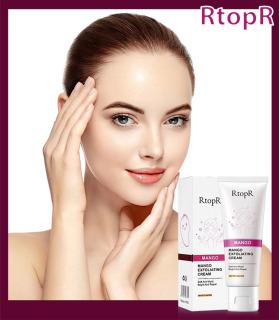 RtopR Kem Tẩy Tế Bào Chết Làm Sạch Dưỡng Trắng Da Mặt Chiết Xuất Mango Exfoliating Cream Moisturizing Skin Care thumbnail