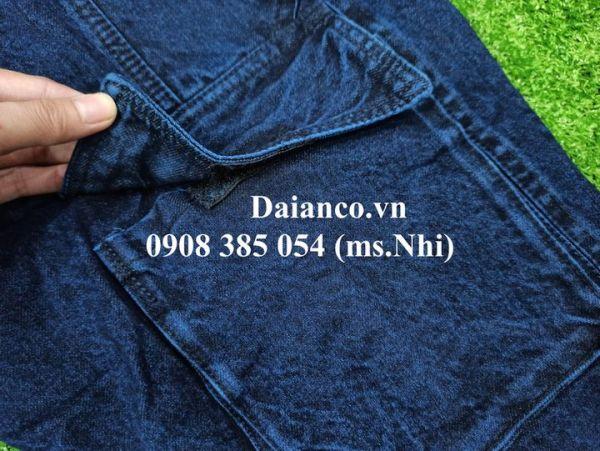Đồng phục Điện lực vải Jean tốt dày dặn- Hình thật