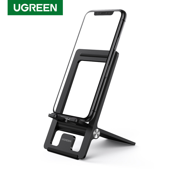 UGREEN 45 Degree Multi-Angle Adjustable Phone Stand Holder for iPad Pro/SAMSUNG, Apple iPhone, Xiaomi, LG, Huawei, ASUS, VIVO, OPPO All iOS Android Phone and Small Tablet