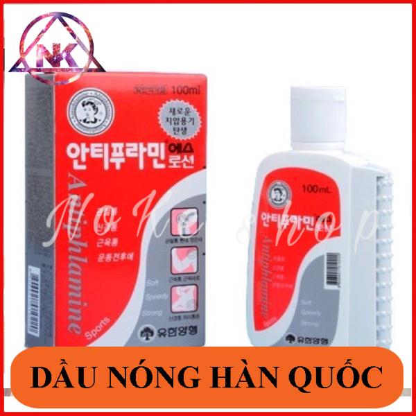 Dầu nóng xoa bóp Hàn Quốc nhập khẩu