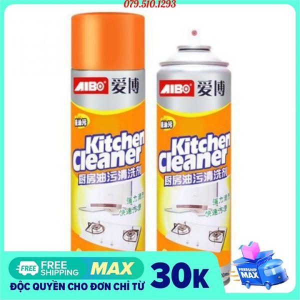 [FREESHIP HCM 500ML] Bình xịt tẩy rửa kitchen cleaner, bình xịt tẩy rửa đa năng, bình xịt tẩy rửa bếp đa năng, bình xịt bếp kitchen cleaner, chai xịt tẩy đa năng kitchen cleaner, Bình xịt bọt tuyết màu cam