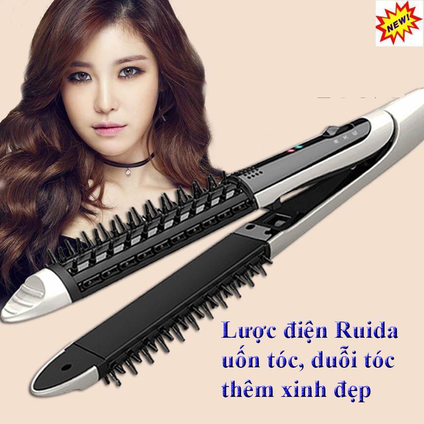 Máy uốn tóc xoăn RUIDA tạo kiểu tóc, Máy uốn tóc duỗi tóc hàn quốc