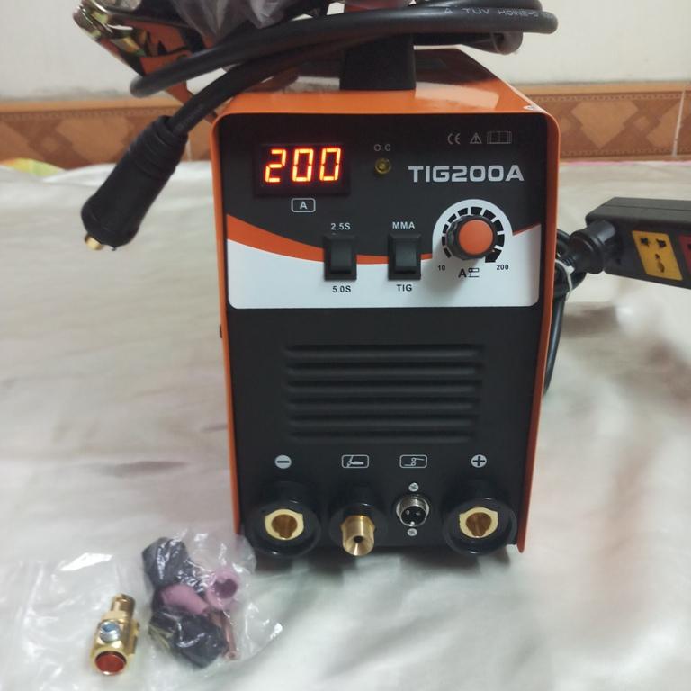 Máy hàn TIG jasic TIG-200A chức năng  Que và TIG - TIG-200A