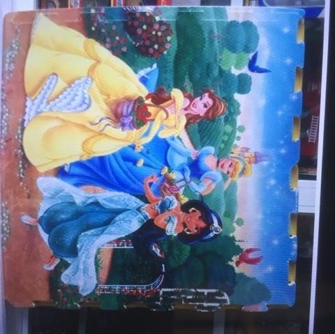 Hình ảnh thảm xốp ghép cao cấp hình ảnh các công chúa sắc nét