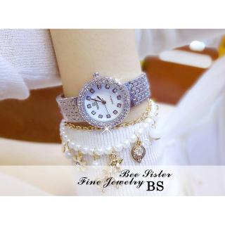 Đồng hồ nữ BS BEE SISTER ROXIE Mặt Xà Cừ Sang Trọng - Tặng Kèm Pin ĐH Dự Phòng - Đồng hồ nữ thời trang, Đồng hồ nữ thể thao, Đồng hồ nữ cao cấp, Đẹp,Sang trọng,Đẳng cấp, Bền, Giá Sốc, Đồng hồ nữ hàn quốc, Đồng hồ 7