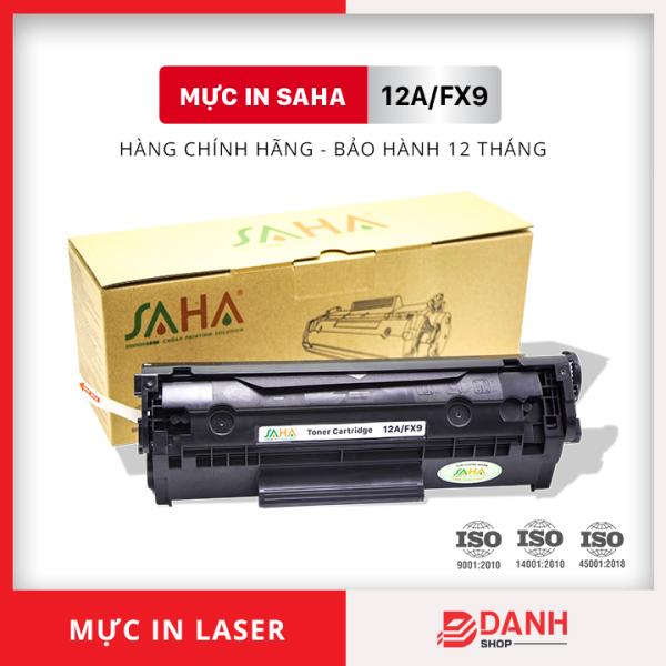 Bảng giá Hộp mực in SAHA 12A/FX9  - Dùng cho máy in HP & Canon 2900, 3000 (CRG-303) - Bảo hành 12 tháng ( FULL BOX) / Mực máy in Laser Phong Vũ