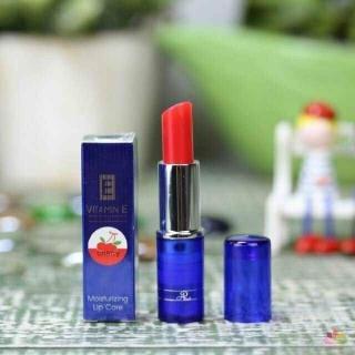 Son dưỡng trị thâm môi Aron Vitamin E Cherry (Thailand) thumbnail
