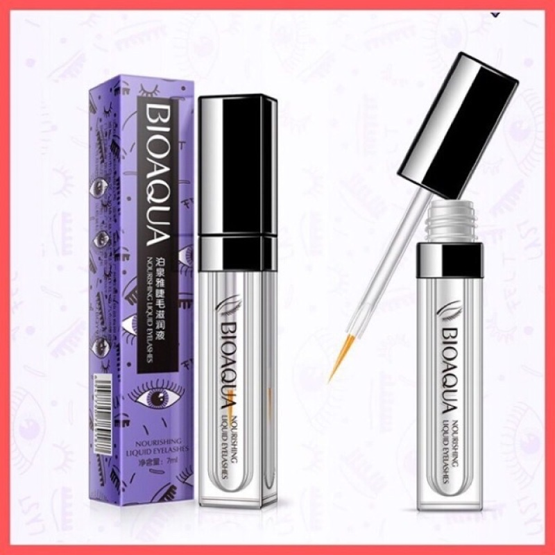 Serum dưỡng mi dài và dày Nourishing Liquid Eyelashes Bioaqua nhập khẩu