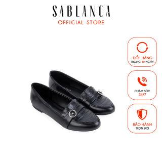 Giày mọi kèm khóa tròn trang trí - Sablanca 5050MO0014