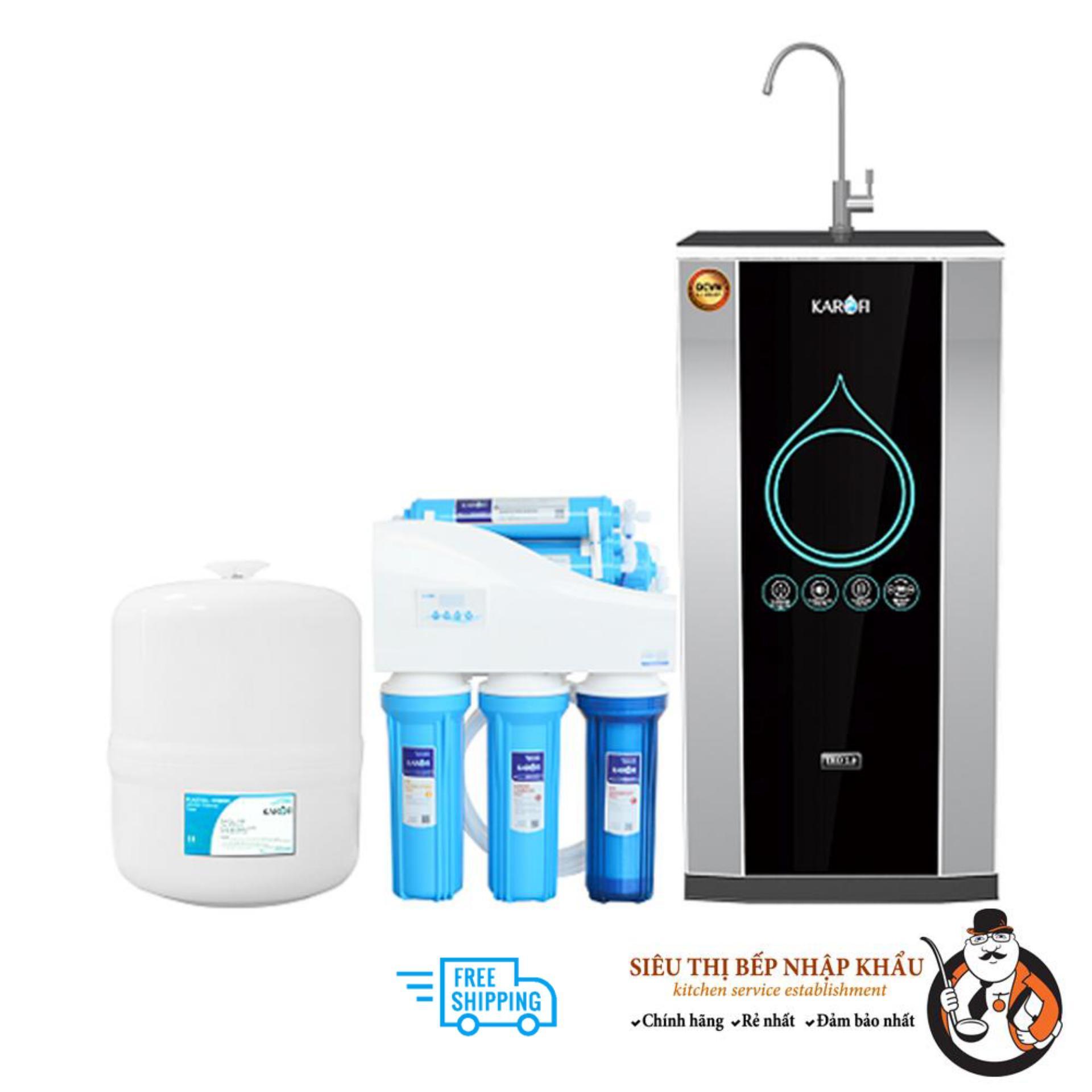 Máy lọc nước thông minh IRO 2.0 Karofi, 8 cấp, tủ IQ, Model: K8IQ-2