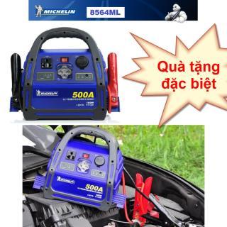 Bộ Kích nổ ô tô chuyên dụng Michelin 8564Ml 500A Vỏ nhựa ABS chịu lực kết hợp cao su chống sốc (Còn hàng) thumbnail