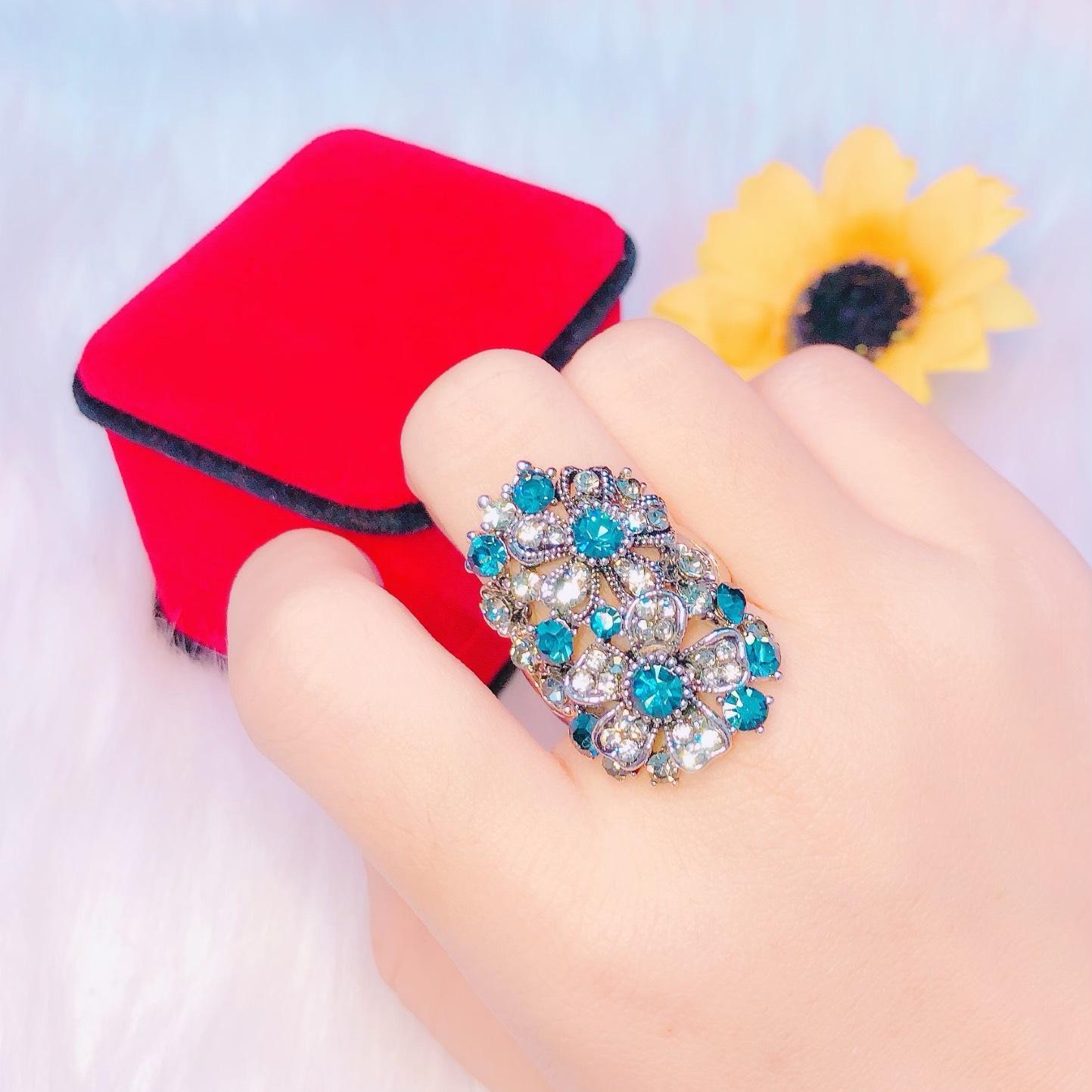 Nhẫn bạc thái Trang Sức Gami KN26061901 - làm quà tặng bất ngờ vô cùng ý nghĩa
