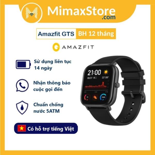 Đồng Hồ Thông Minh Xiaomi Amazfit GTS 2019 Global   Hàng Chính Hãng   Bản Quốc Tế   Phân Phối Bởi DIGIWORLD