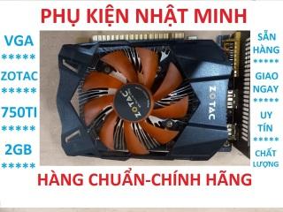 [Thanh lý nhanh] Card màn hình zotac 750ti D5 2gb 1 fan chính hãng bảo hành 3 tháng thumbnail