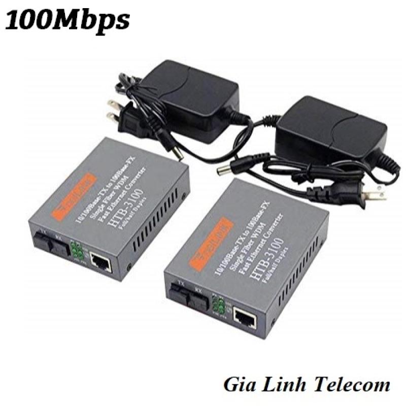 Bảng giá Bộ Chuyển Đổi Quang Điện Netlink 3100 AB - Converter Quang Netlink HTB 3100AB 100Mbps Phong Vũ