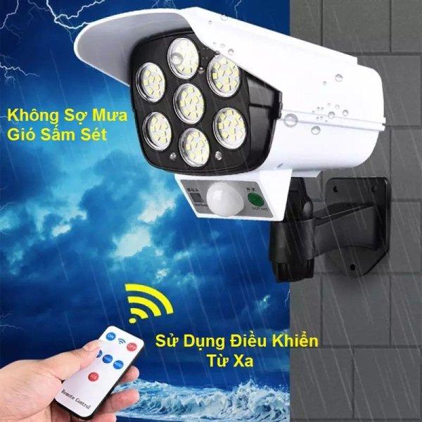 Bảng giá Đèn Năng Lượng Mặt Trời Giả Giống Camera Giám Sát Ngoài Trời Chống Trộm|| Tự động sáng khi trời tối và khi có người đến gần, Công suất 30W, Chống nước IP66, Sử dụng 6 tiếng, Có 3 chế độ, Điều khiển từ xa