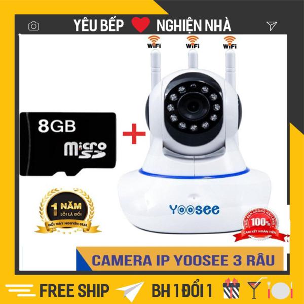 Camera wifi - Camera Yoosee 5 râu 3.0Mpx Full HD - Bản Nâng Cấp Hoàn Hảo
