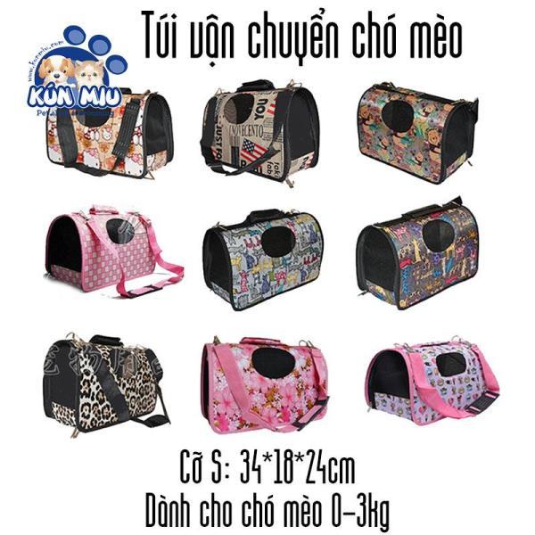 Túi vận chuyển chó mèo cỡ nhỏ dành cho chó mèo từ 0-3kg  Kún Miu