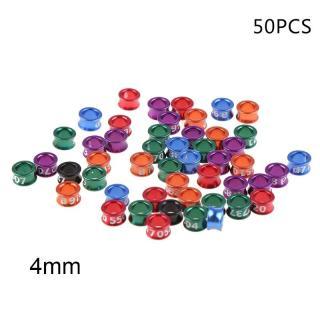 Bộ 50 chiếc vòng chân cho gia cầm giúp dễ dàng phân biệt và quản lí - INTL thumbnail