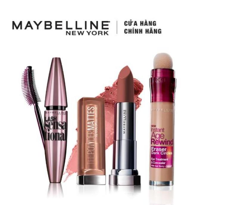 Bộ sản phẩm trang điểm thời thượng Maybelline New York Fashion Week Touch Of Nude nhập khẩu