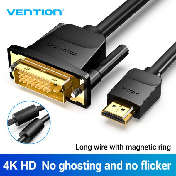 Bảng giá Vention cáp chuyển đổi HDMI sang DVI 1080P DVI-D 24+1 Pin 3D High Speed for LCD DVD HDTV XBOX Projector PS3 DVI to HDMI Cable Phong Vũ