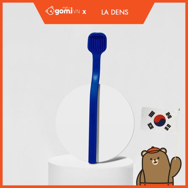 Bàn Chải Vệ Sinh Lưỡi Màu Xanh La Dens Better Tongue Cleaner Blue GomiMall