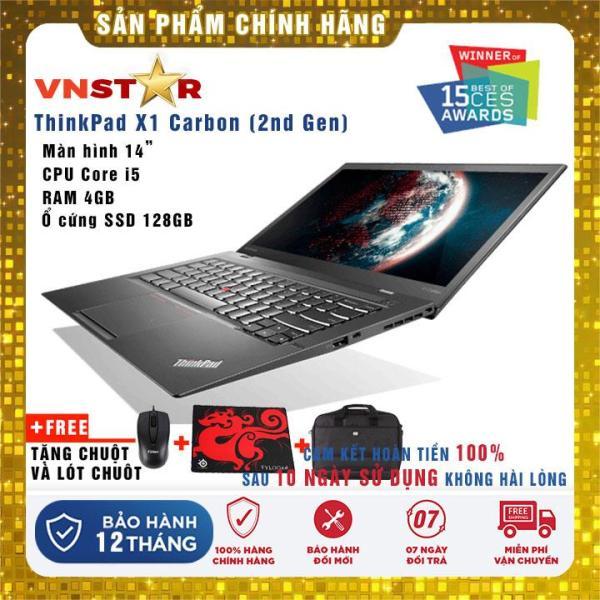 Bảng giá Laptop Lenovo ThinkPad X1 Carbon Gen2 i5-4300U   Ram 8GB   SSD 128Gb/256Gb 14   FHD - Nhập khẩu USA Phong Vũ