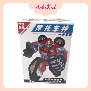 Đồ chơi xe ô tô biến hình người máy autobot, người máy biến hình cho bé chất liệu nhựa an toàn thumbnail