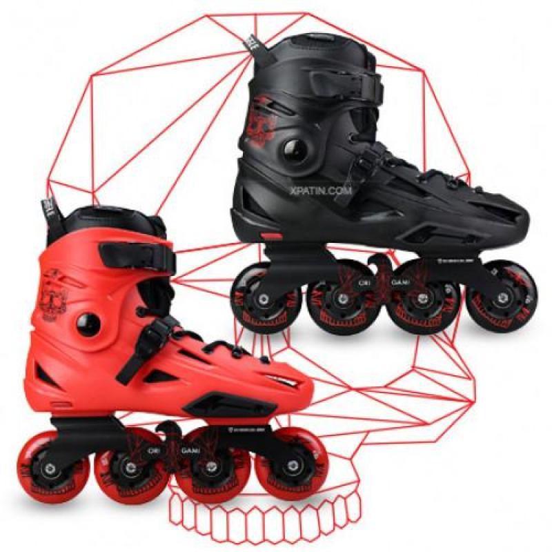 Phân phối Giày trượt patin F3s tặng ngay 8 bánh Led - Siêu phẩm tuyệt hảo Giày patin Flying Eagle F3S P full box