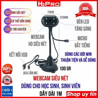 Webcam Chân Cao Có Mic H2Pro chất lượng cao, Webcam giá rẻ cho học sinh, sinh viên thumbnail