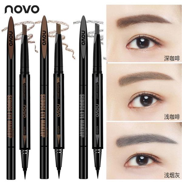 CHÌ KẺ MÁY, MẮT 2 TRONG 1 NoVo Makeup Seduce-Tenshi cosmetics giá rẻ