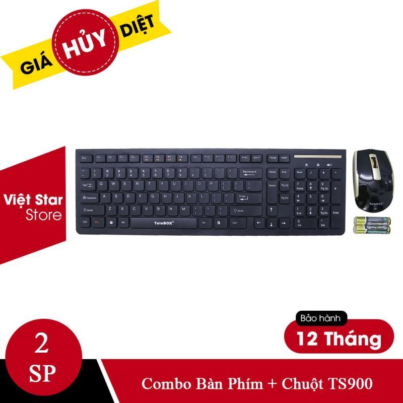 Combo Bàn Phím + Chuột Không Dây Telebox TS-900