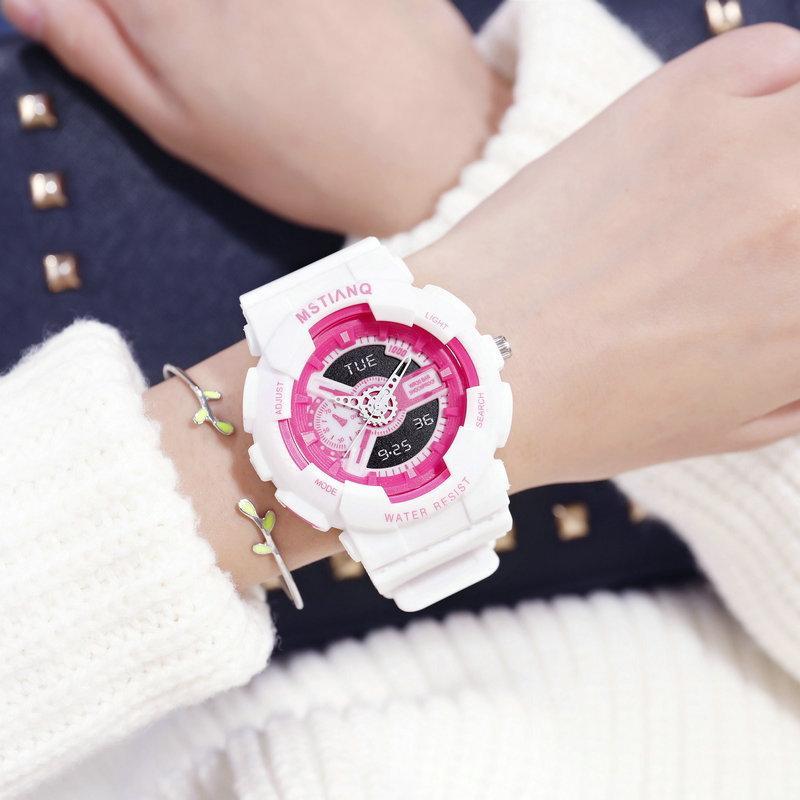 Nơi bán Đồng hồ nữ thời trang Sport MSTIANQ dây nhựa silicon cao cấp