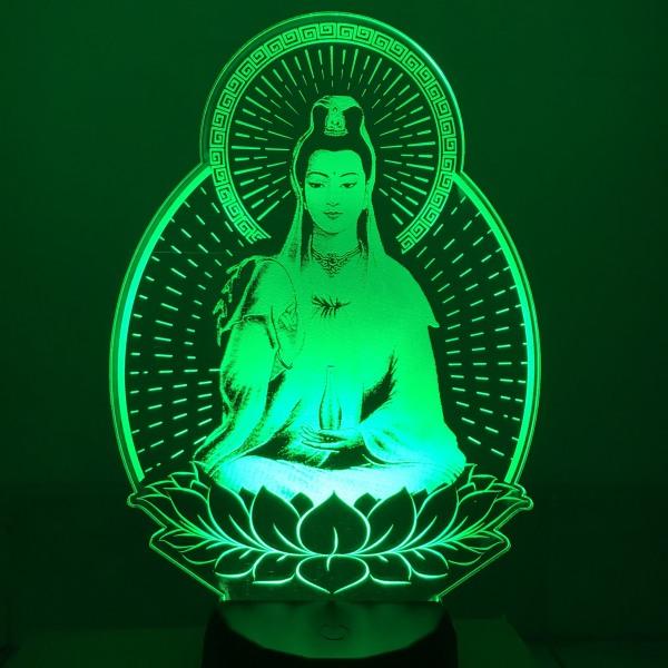 Đèn led hình PHẬT MẸ QUAN ÂM ,Đèn thờ mẹ quan âm, đèn để xe ô tô, đèn ngủ, Đèn led khắc hình theo yêu cầu, đèn khắc hình cá nhân, đèn để bàn, đèn ngủ, đèn trang trí, quà tặng sinh nhật, quà tặng người thân bạn bè