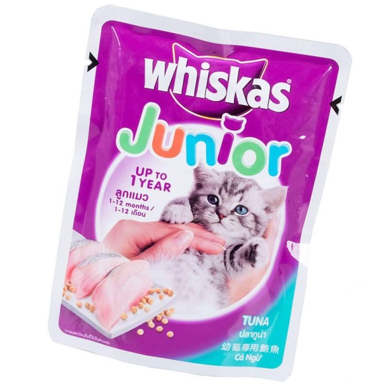 Thức Ăn Cho Mèo Con Pate Whiskas