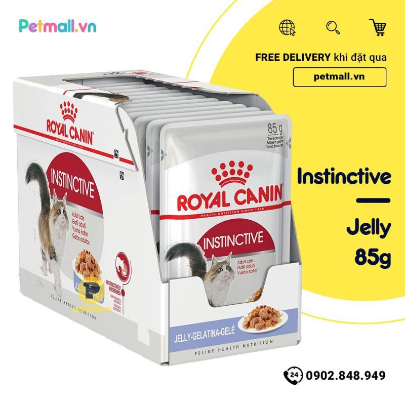Pate mèo Royal Canin Instinctive Jelly 85g - Hộp 12 gói