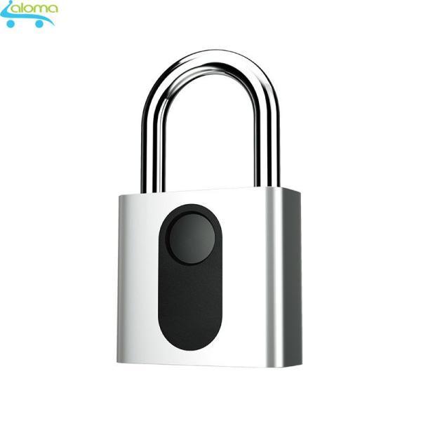 Ổ khóa vân tay OKLOK GS40S bằng thép không gỉ chống nước chống phá khóa cảm biến vân tay 1 chạm