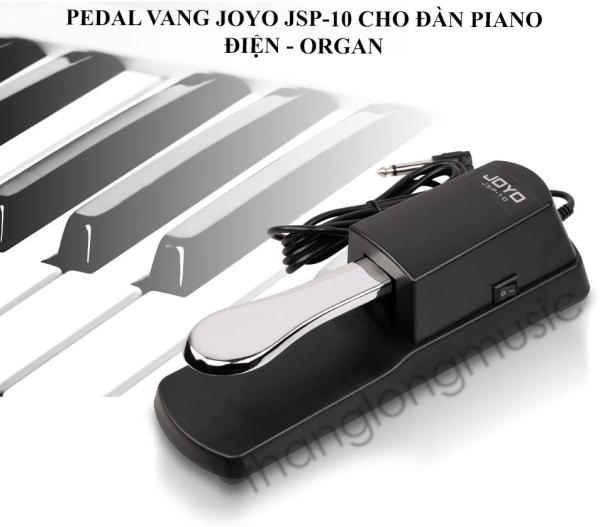 Pedal vang - Sustain Pedal Joyo JSP-10 Có công tắc đổi chiều dùng cho đàn Organ và piano điện