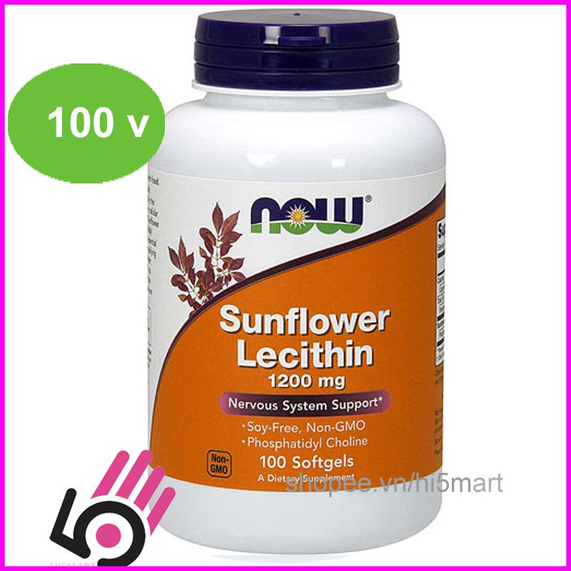 Thực phẩm chống tắc tia sữa Sunflower Lecithine 1200