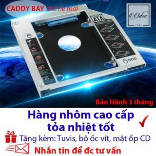 Caddy Bay 9.0mm SATA 3.0 gắn thêm ổ cứng cho Laptop siêu mỏng đời mới thumbnail