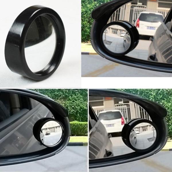 Gương cầu lồi gắn kính hậu ô tô xoay 360 xóa điểm mù siêu hot
